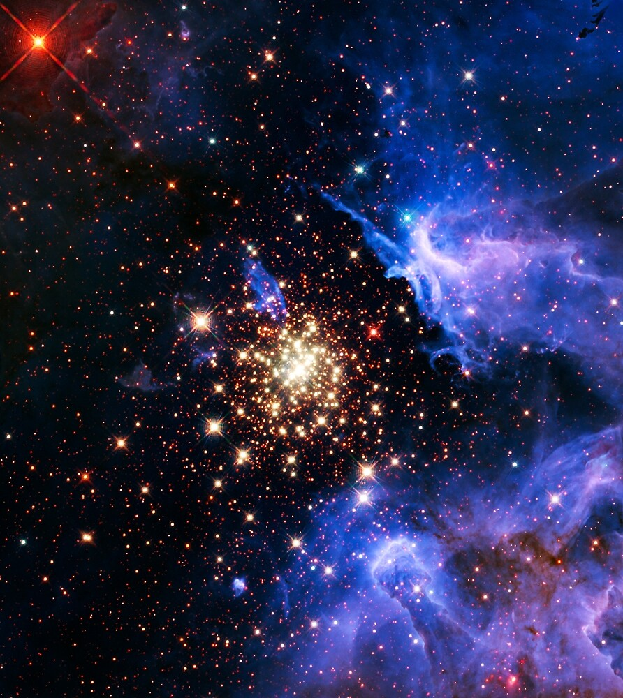 Starburst cluster NGC 3603 by CosmicStyles