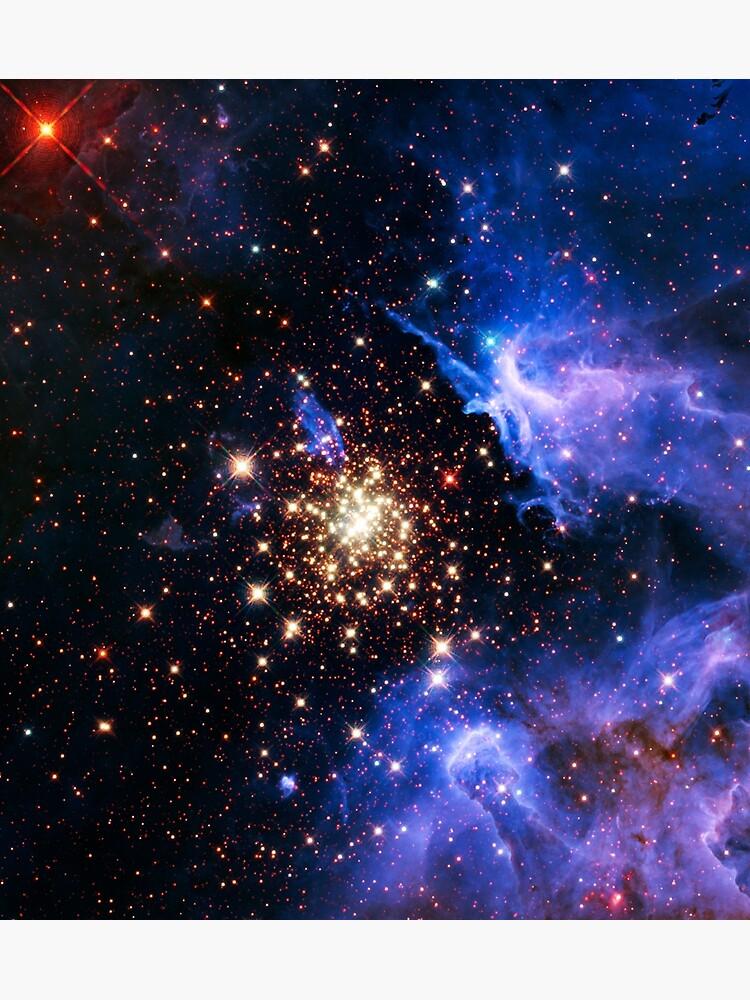 Resultado de imagen de NGC 3603 - Clúster de explosión de estrella