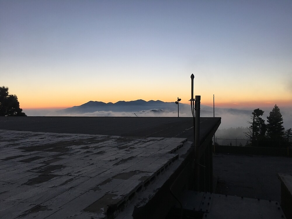 Mountain Fog by clairebearr