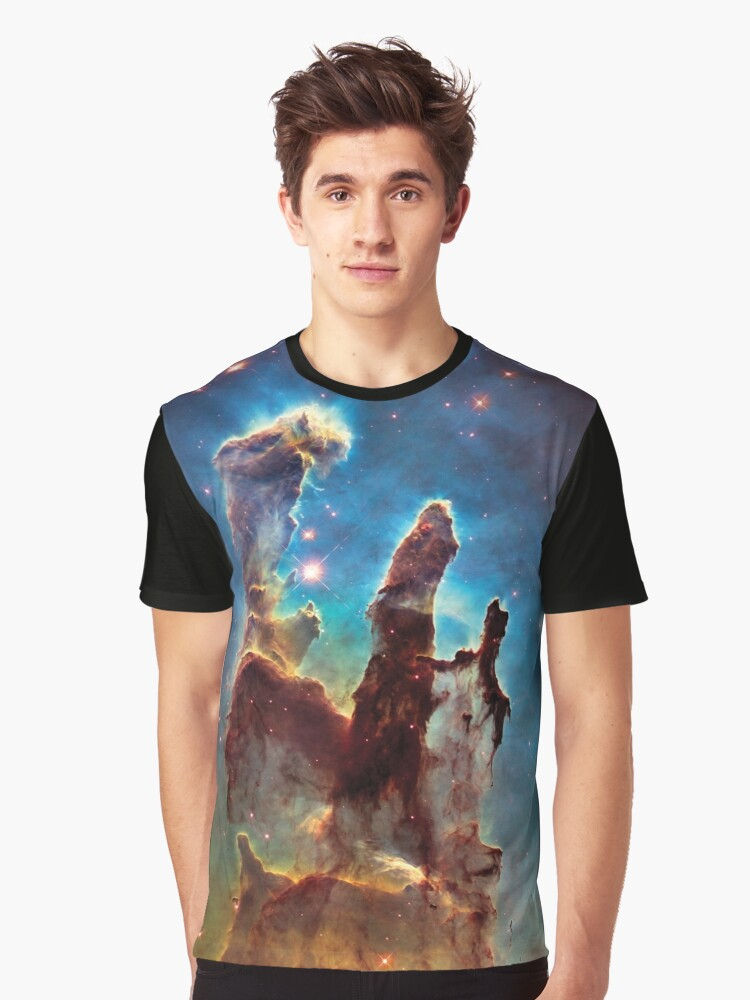 The Pillars of Creation Graphic T-Shirt Front