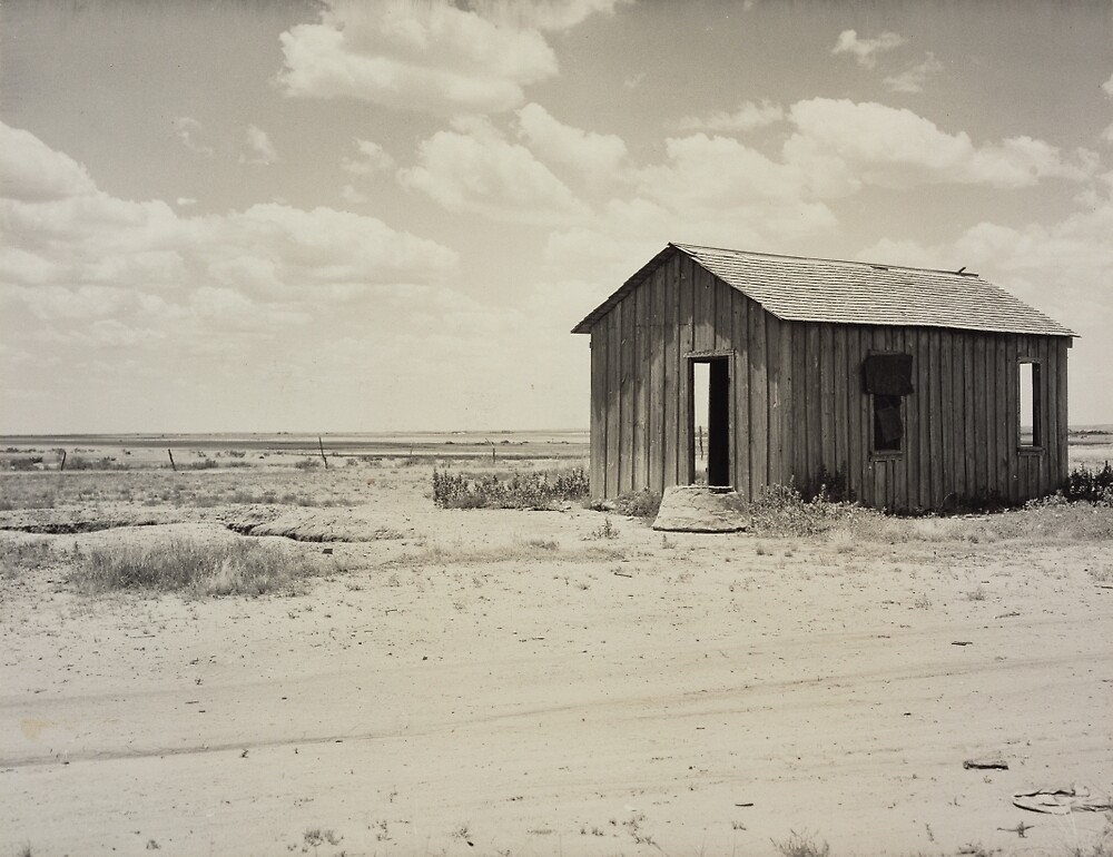 Abandoned Dust Bowl Home by PDRTS