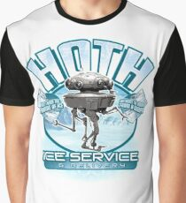 Hoth Ice Service - No Drama with the Wampa Graphic T-Shirt
