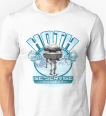 Hoth Ice Service - No Drama with the Wampa T-Shirt
