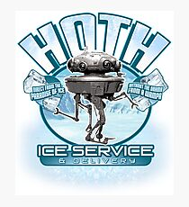 Hoth Ice Service - No Drama with the Wampa Photographic Print