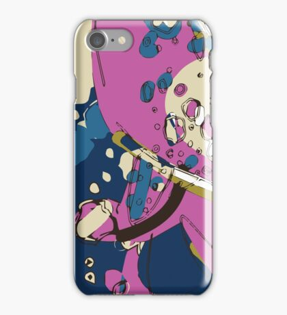 Spacey garden abstract iPhone Case/Skin