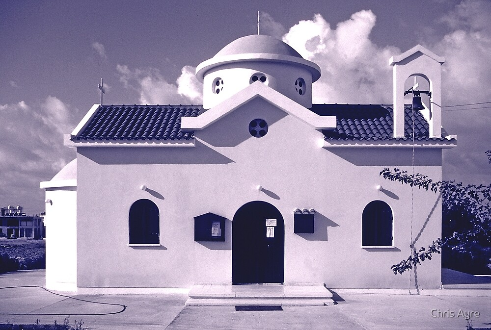 Cypriot Church by Chris Ayre