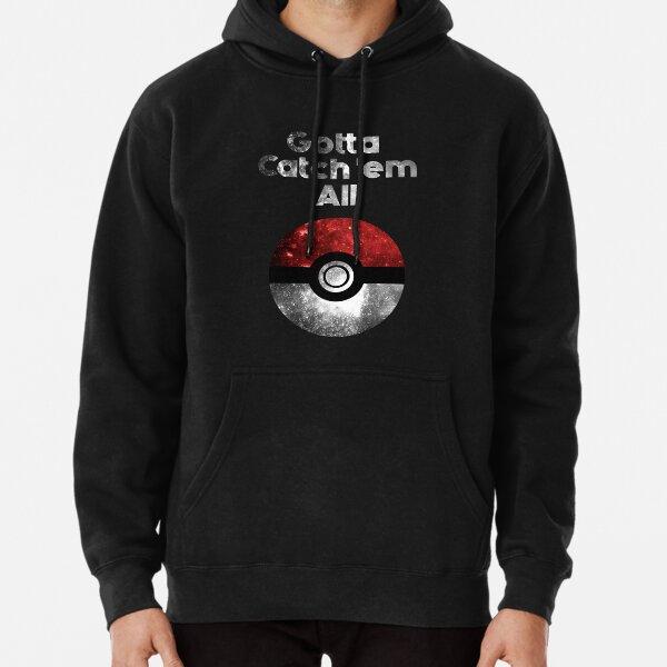 Pokemon Minimalist Nebula Design Pullover Hoodie