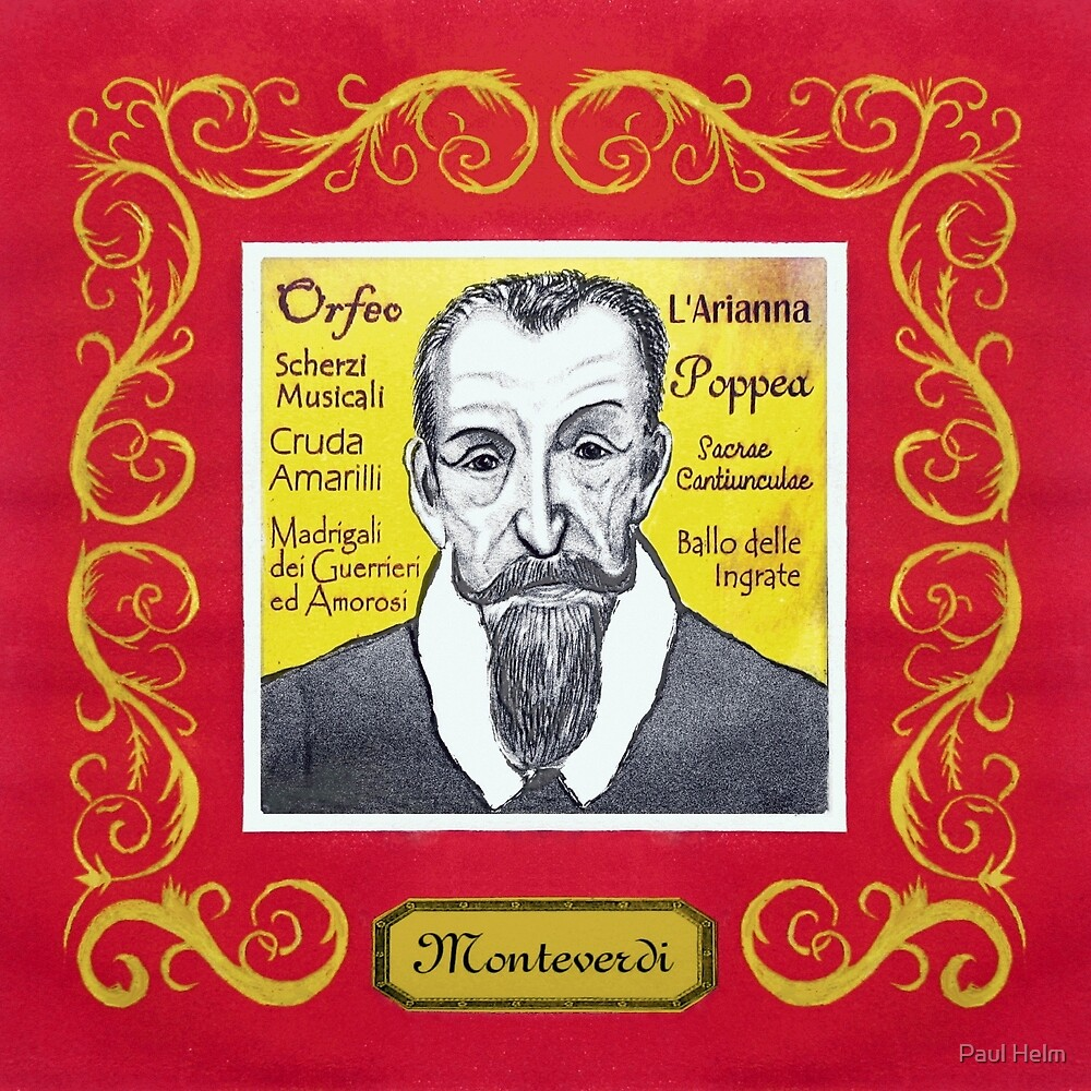 Claudio MONTEVERDI - Italian composer by Paul Helm