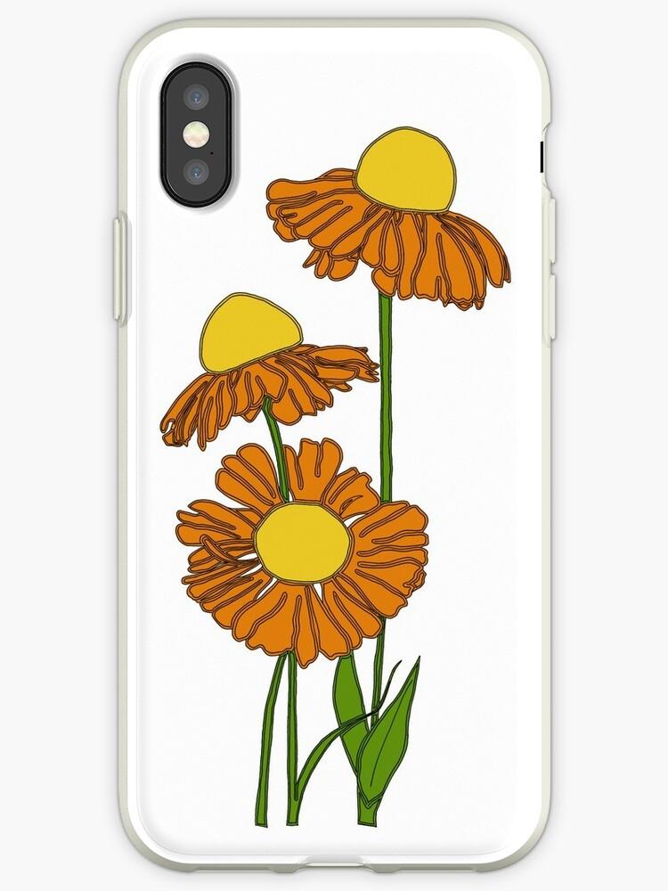 Orange flower illustration  by Kathrynsarah