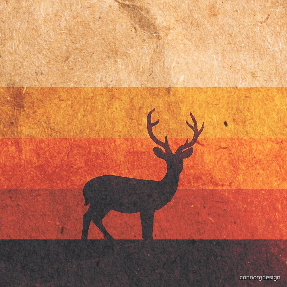 Stag Sunset by Noctvrne Design