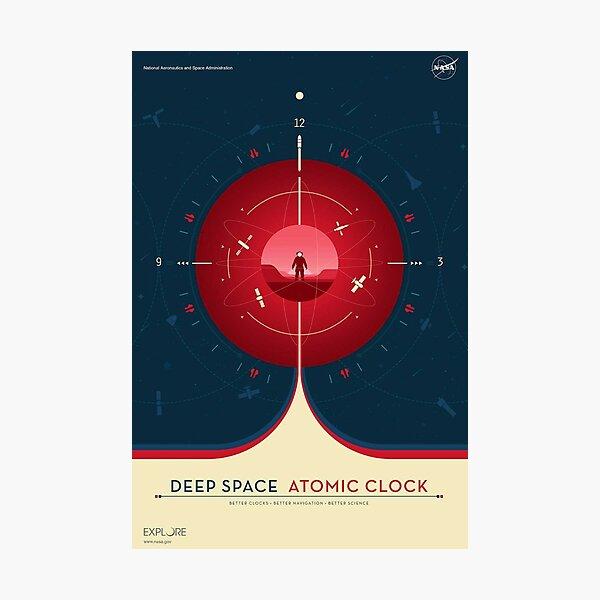 Vintage NASA space poster .  Photographic Print