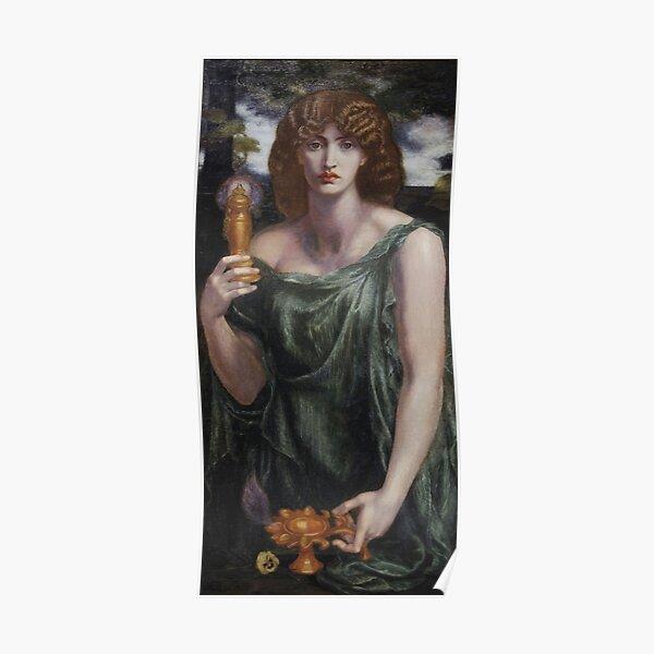 Mnemosyne (1881) by Dante Gabriel Rossetti  Poster