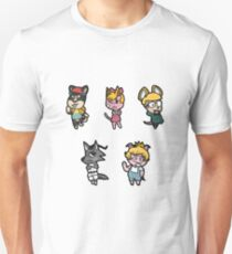 Animal Crossing / Earthbound Crossover Unisex T-Shirt