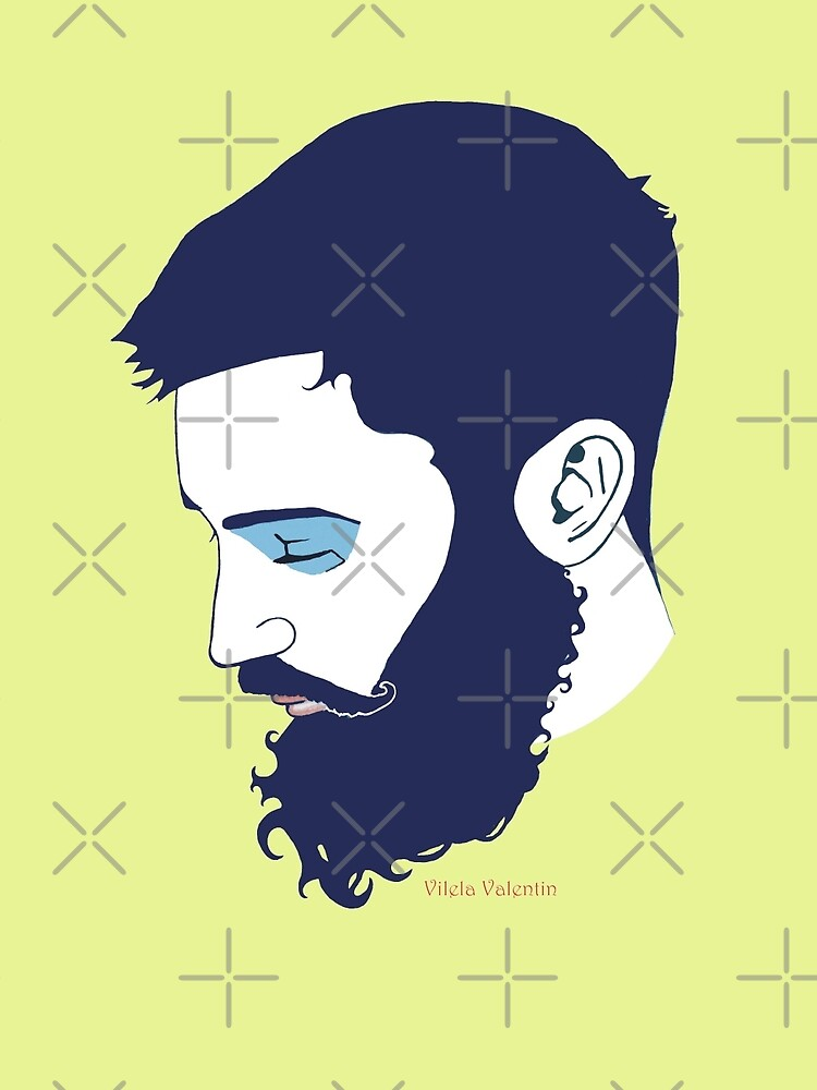 Cute Bearded Man by vilelavalentin