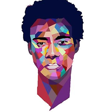 Childish Gambino - Because The Internet Cartoon by dlab0205