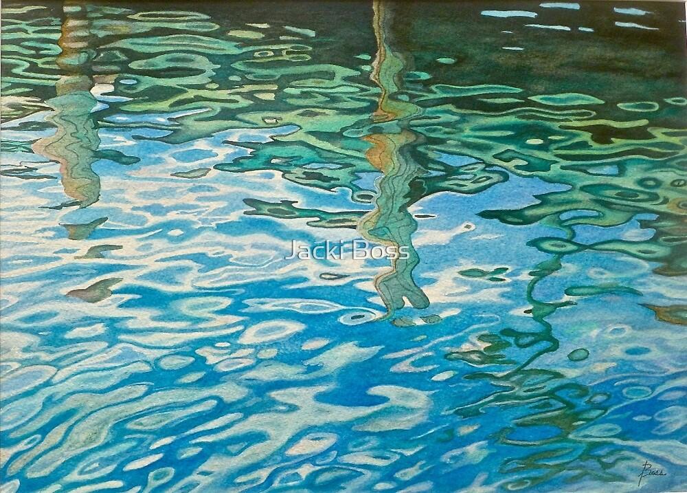 Water Reflections by Jacki Boss