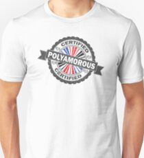 Certified Polyamory Stamp T-Shirt