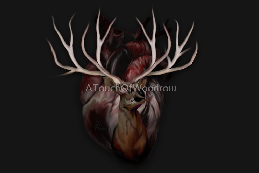 Sweet Deer Heart by ATouchOfWoodrow