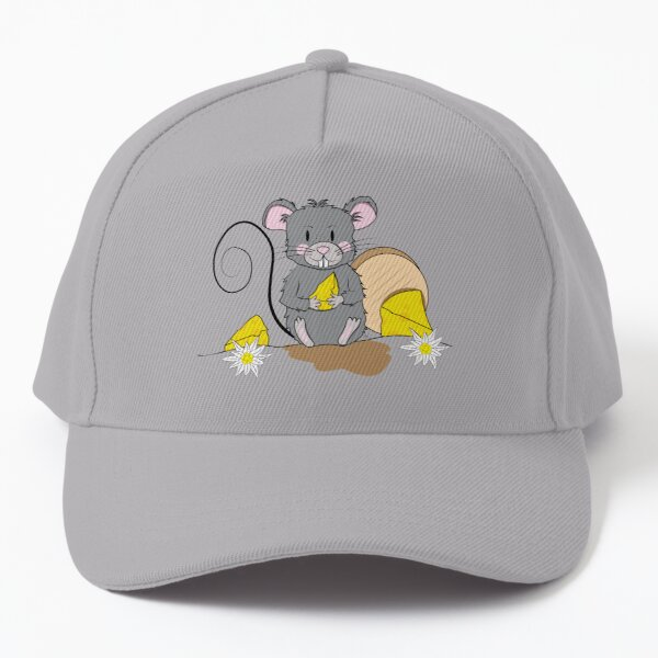 Mouse with cheese Baseball Cap