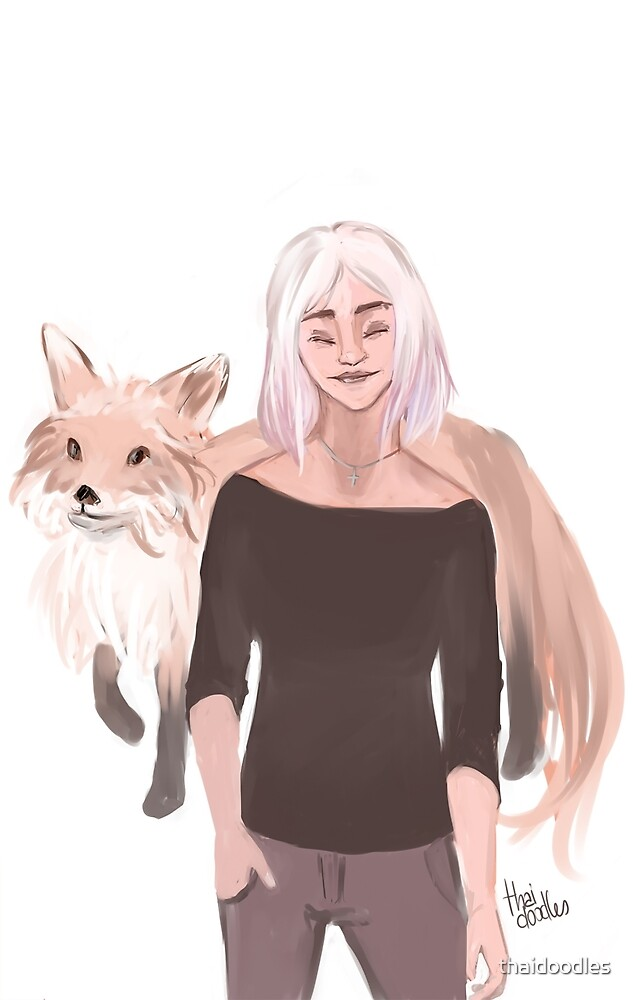 Renee Walker - Foxes with Foxes by thaidoodles