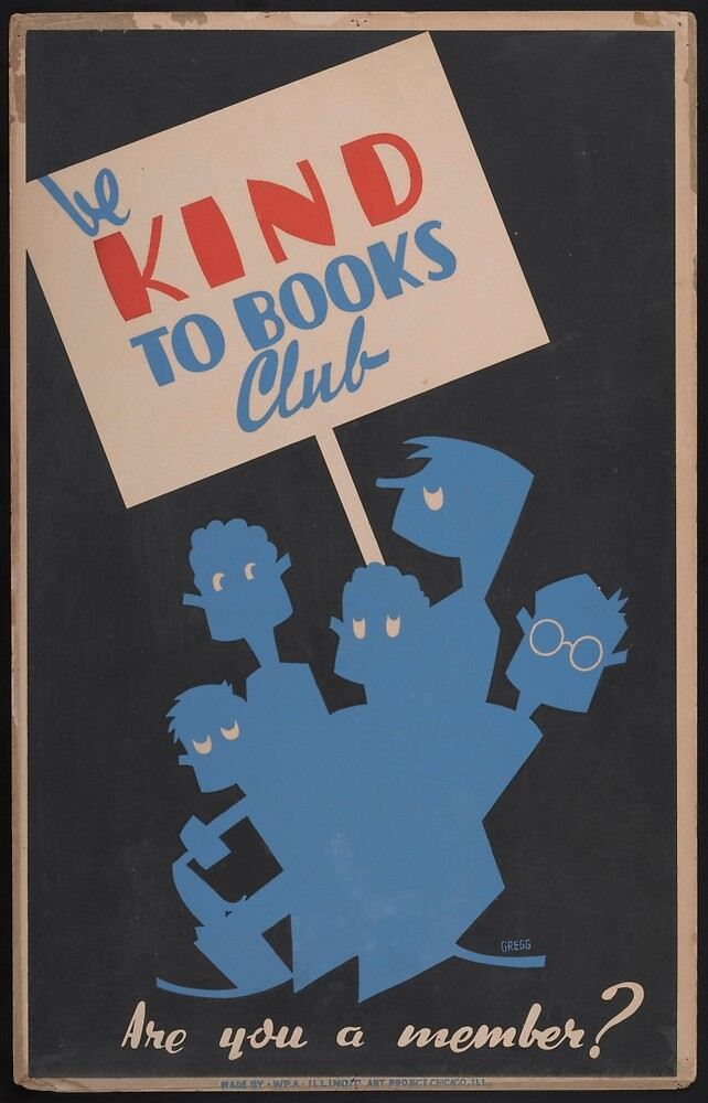 Be Kind to Books Club by PDRTS