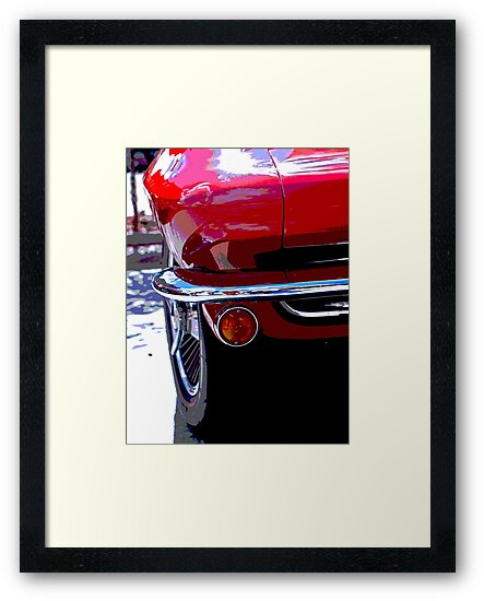 Classic Muscle Car by GodsArt