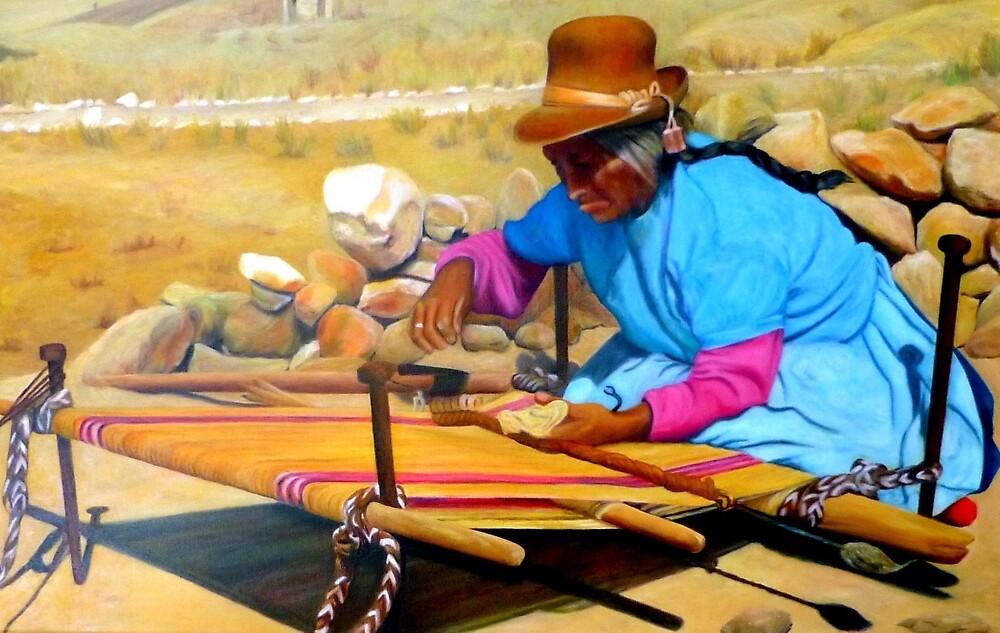 The weaver by Nita Clifton