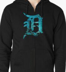 Detroit Zipped Hoodie