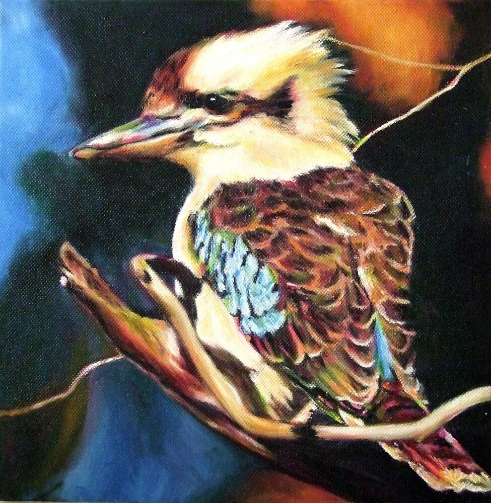 Kookaburra by Nita Clifton
