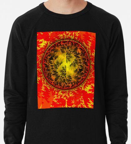 Red Mandala Lightweight Sweatshirt