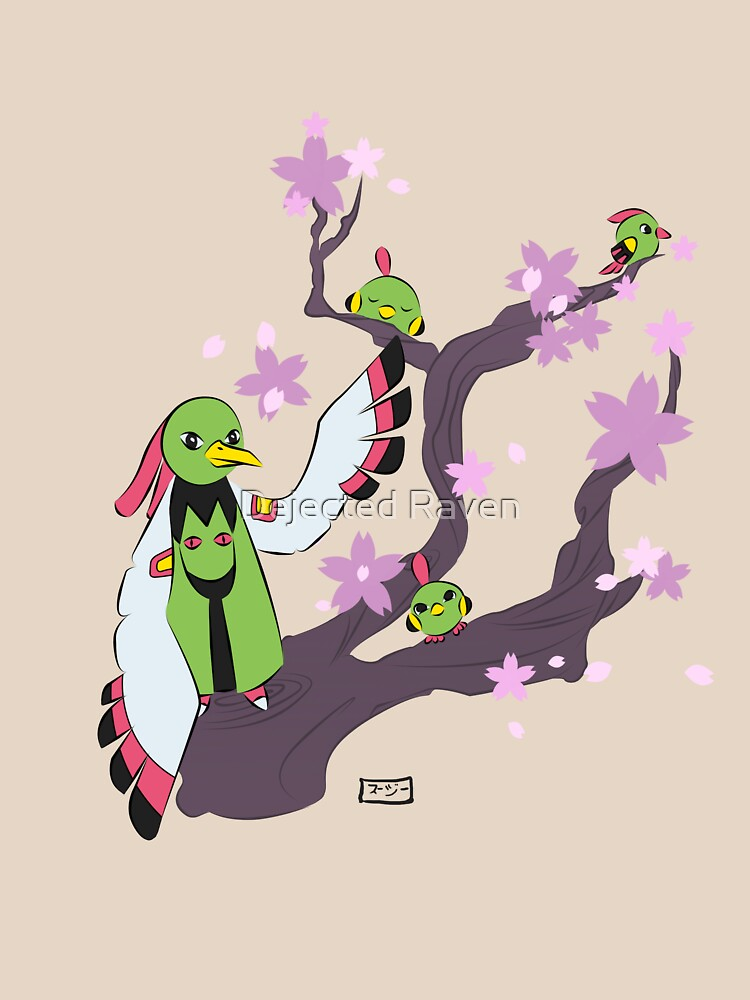 Xatu tree by Goldarcanine