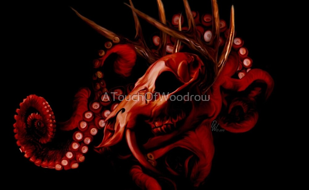 Helterskelter Red by ATouchOfWoodrow