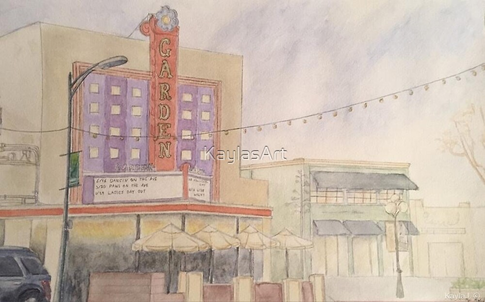 Garden Theater-scroll down to view more of my work by KaylasArt