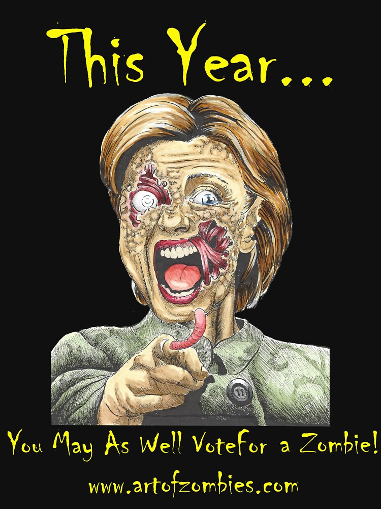 The Zombie Hillary Clinton- New edition by Tyler-Blake