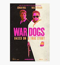 War Dogs Photographic Print
