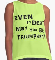 Even In Death Contrast Tank