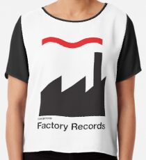 FACTORY RECORDS Chiffon Top