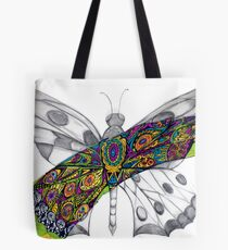 Sweeping butterfly  Tote Bag