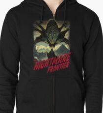 THE NIGHTMARE FRONTIER Zipped Hoodie