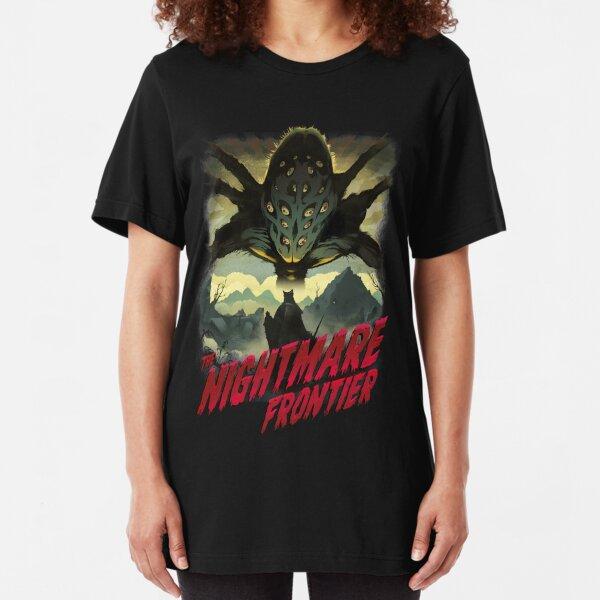 THE NIGHTMARE FRONTIER Slim Fit T-Shirt