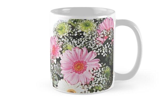 Flower Garden. Printed Scenic Mugs. Photo Art. by sunnypicsoz