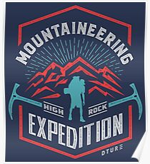Mountaineering Poster