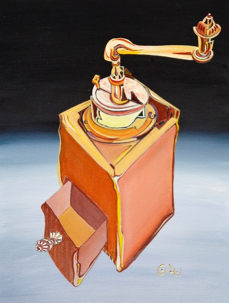 coffee-grinder by Giselle Luske