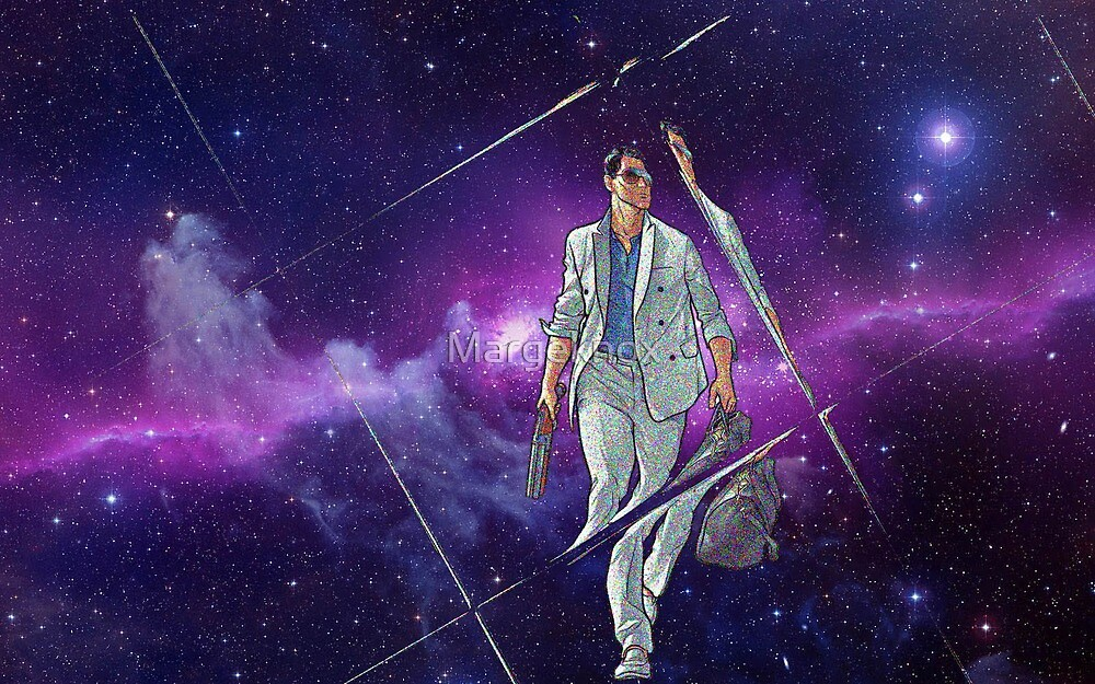 Archer - Sterling Archer Vice Galaxy by Margeknox