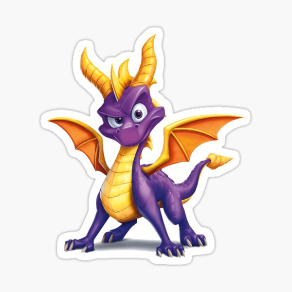 Dragon Spyro Sticker