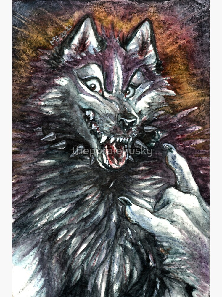 Were-Huskie by thepurplehusky