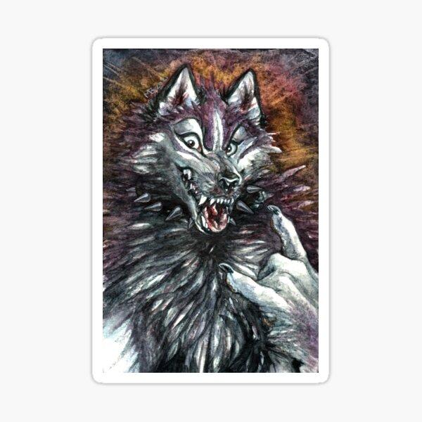 Were-Huskie Sticker