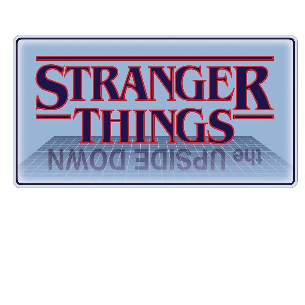 Stranger Things - Upside Down Blue by kawadallah