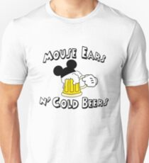 Mouse Ears and Cold Beers T-Shirt