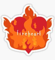 Fireheart Sticker
